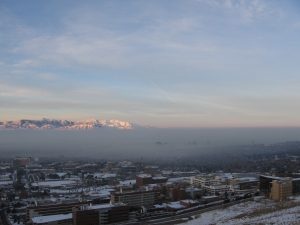An inversion event in Salt Lake City