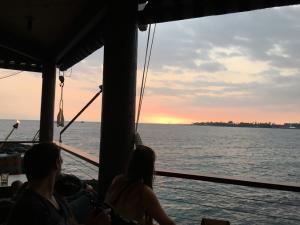 Sunset dinner in Kona. Photo credit: Jeff Peischl