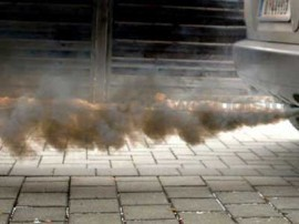 Image of pollution and aerosol from a car. Courtesy of http://www.autoguide.com/auto-news/2015/04/what-does-the-smoke-from-my-exhaust-mean-.html