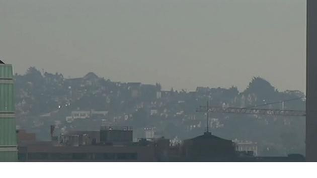 A Spare the Air Day in the San Francisco Bay area in winter 2015. Image provided by http://abc7news.com/weather/poor-air-quality-blankets-bay-area-for-fifth-consecutive-day/464558/