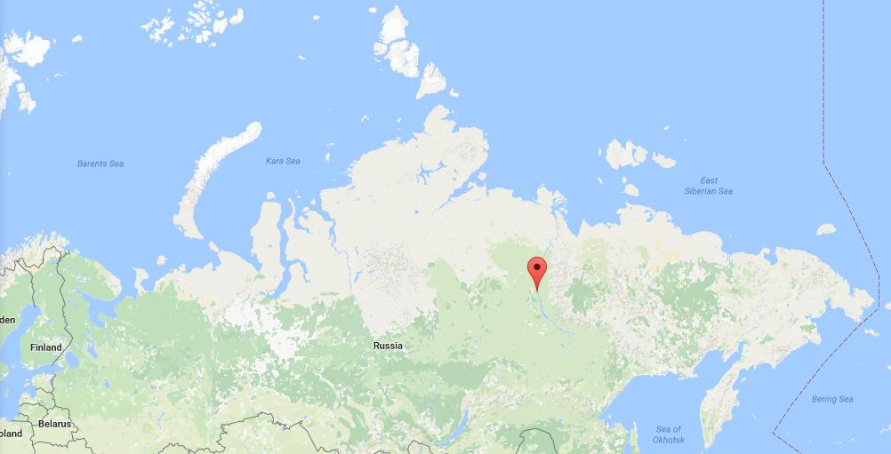 Zhigansk, Sakha Republic, Russia