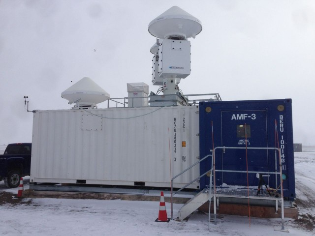 The ARM Mobile Facility, as seen from outside.