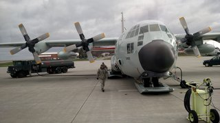 NY Air National Guard C-130, Stratton AFB in Scotia, NY