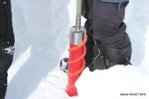 Ice core drill bit