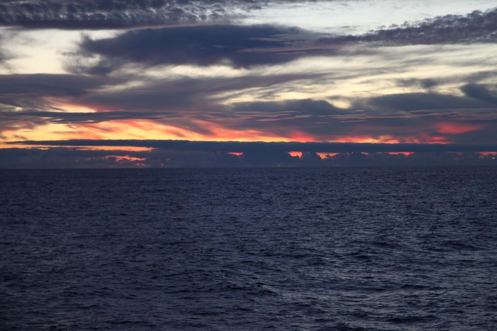 A beautiful sunrise.