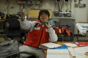 Graduate student Satoshi from Kyoto University