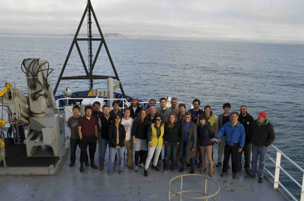 Science crew of HOBITSS voyage.