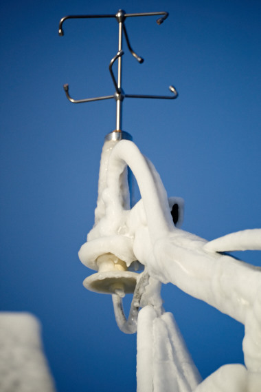 ice on sonic anemometer